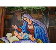 Mary and Jesus Photographic Print
