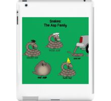 Snakes in the Asp Family iPad Case/Skin