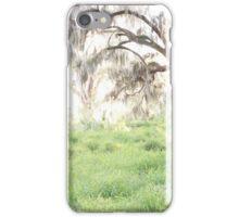 golden greenery iPhone Case/Skin