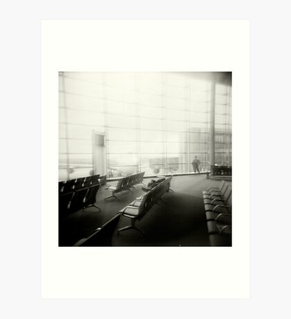 Airport, Paris Art Print