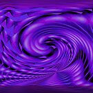 PURPLE WAVE by Ruth Kauffman