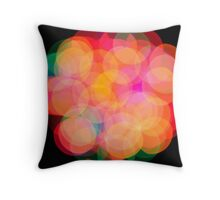 Circles of Confusion Throw Pillow