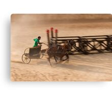 Chariot Race Canvas Print