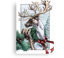 The Holiday Courier Canvas Print