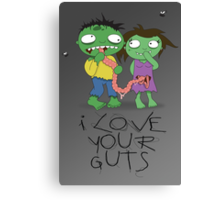 I Love Your Guts Canvas Print
