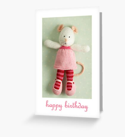 mary margaret birthday Greeting Card
