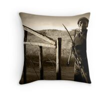 Security guard Throw Pillow