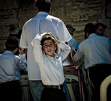 Israel, Jerusalem - Wailing Wall by Lucas Packett