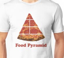 Food Pyramid Pizza Unisex T-Shirt