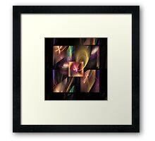 'Squares 3' Framed Print