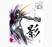 Kasumi from Mass Effect sumi and watercolor style Unisex T-Shirt