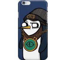 Adventure Time - Gangsta Gunter iPhone Case/Skin