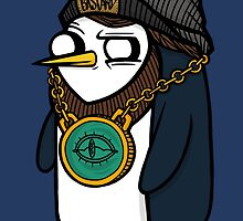 Adventure Time - Gangsta Gunter by Seignemartin