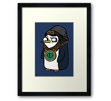 Gangsta Gunter Framed Print