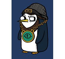 Gangsta Gunter Photographic Print