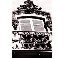 Architectural Window Photographic Print