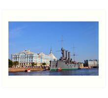 Russian Cruiser Aurora Art Print