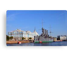 Russian Cruiser Aurora Canvas Print