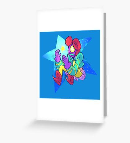 Kepler the alien adventurer  Greeting Card