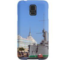 Russian Cruiser Aurora Samsung Galaxy Case/Skin