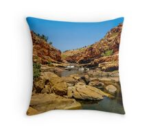 Bell Gorge in the Kimberley, Australia Throw Pillow