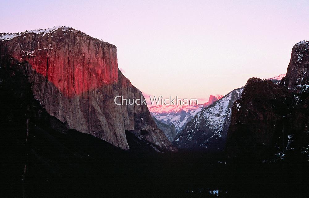EL CAPITAN, SUNSET by Chuck Wickham