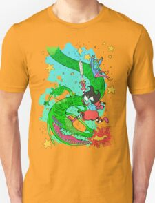 Space Dragons are Fun Unisex T-Shirt