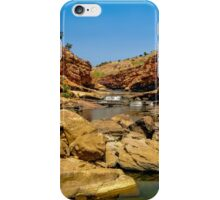 Bell Gorge in the Kimberley, Australia - square photo iPhone Case/Skin