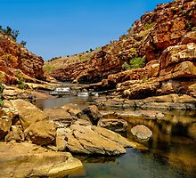 Bell Gorge in the Kimberley, Australia - square photo by Luke Farmer