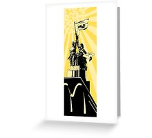 American Ideology  Greeting Card