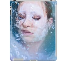 Blue of Noon - erotic nude cool water sexy nature crazy power proud woman awesome iPad Case/Skin