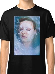 Blue of Noon - erotic nude cool water sexy nature crazy power proud woman awesome Classic T-Shirt