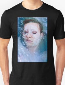 Blue of Noon - erotic nude cool water sexy nature crazy power proud woman awesome Unisex T-Shirt