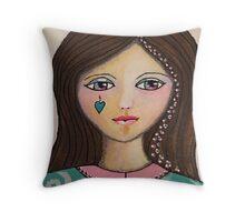 Belle Believes Throw Pillow
