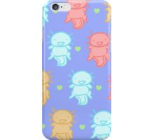 Axolotl! The Mighty Water Dragon! iPhone Case/Skin