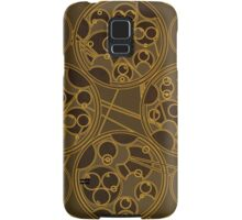 Tick-Tock Poem in Circular Gallifreyan Samsung Galaxy Case/Skin