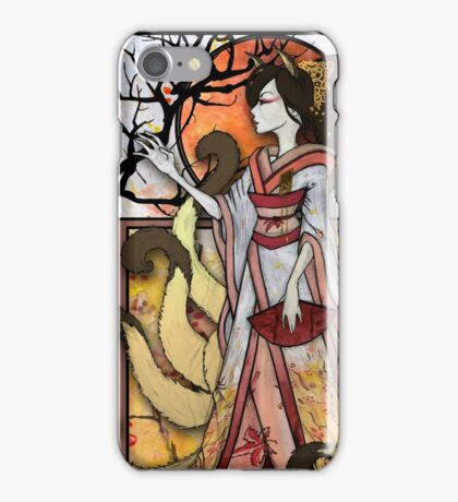 Kitsune of Sunset iPhone Case/Skin