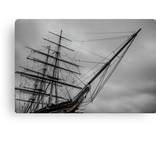 London Cutty Sark Greenwich Canvas Print