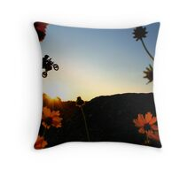 Flower & Power Throw Pillow