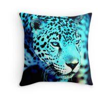 A Blue Jag... Throw Pillow