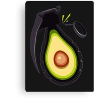 Avocado Grenade Canvas Print