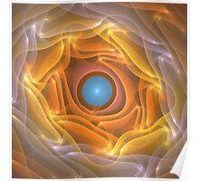 'Folded Sunlight (Sunlight)' Poster