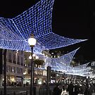 Regent Street at Christmas by Karen Martin