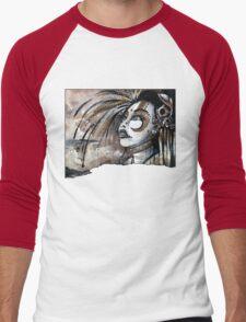 Geisha in Steam: The Hopefull Concubine Men's Baseball ¾ T-Shirt