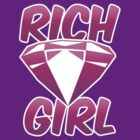 RICH GIRL with pink diamond by jazzydevil