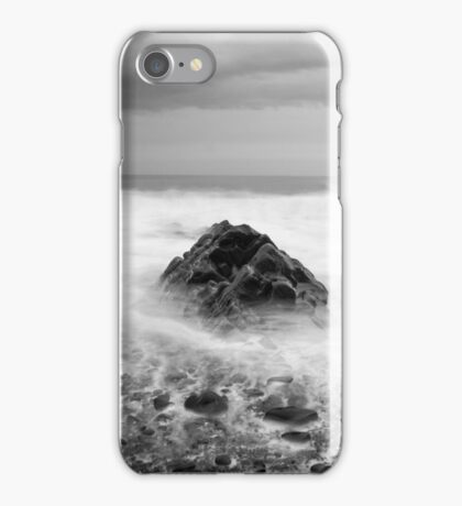 Smoke on the Water, Cornwall England iPhone Case/Skin