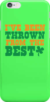 I've been thrown from the BEST! shamrock pub joke shirt by jazzydevil