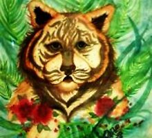 Tropical Tiger by LaNae