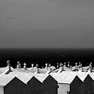 Sea View Cemetery, Bonifacio on Corsica France by M. van Oostrum