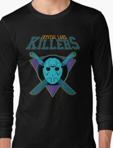 Crystal Lake Killers (NES Variant) Long Sleeve T-Shirt